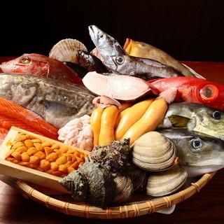 産地直送の鮮度◎その時期ベストな味と食感が楽しめる【魚介類】