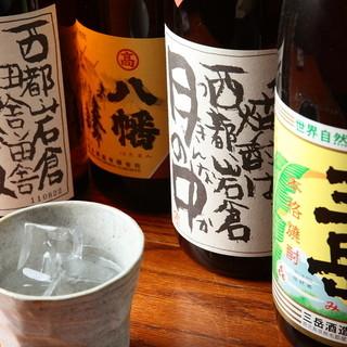 愛知の日本酒や特選本格焼酎など◆多彩なドリンクに酔いしれる…