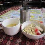 27703095 -  サラダ&スープ♪
