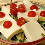 かさはら - 豆腐サラダ