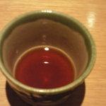 慶水 - 蕎麦湯用のタレ