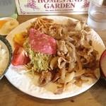 とんちゃん - お昼は生姜焼き定食‼