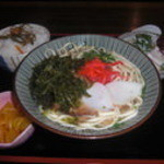 花唄 - アーサそば定食