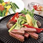 つつじの茶屋 - 国産牛フィレ肉ステーキコース
