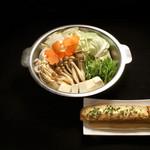 鳥こまち - 料理写真: つくね味噌鍋