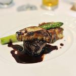 アオヤギ - 料理写真: 牛フィレ肉のステーキロッシーニ風
