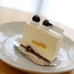 しあわせのえき - レアチーズケーキ☆