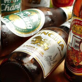 世界各国のビール&豊富なドリンクメニュー