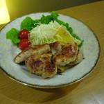 なか屋 -  とりの唐焼き ¥520(税込¥561)