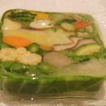 レザンファン ギャテ -  20種類の野菜のテリーヌ
