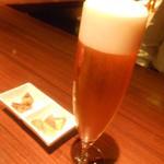 ワイン蔵TOKYO -  最初はビールで