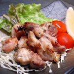 暖炭 - 桜島鶏もも塩こうじ焼き