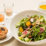 ビオクラスタイル クッキングスクール カフェ -  彩り野菜のたっぷりサラダセット