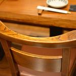 かつ吉 -  無垢材で作った椅子です。