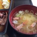 地魚食道 瓢 - エビ汁
