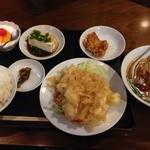 興隆 -  海老マヨ定食(980円)