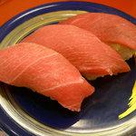 2774781 - 大間産本マグロの食べ比べ(大トロ/中トロ/赤身)…980円