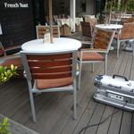 LONCAFE -  テラス席の暖房用ヒーター