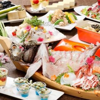 5名以上で飲み放題付きコースご予約すると500円OFF!