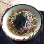 おふく茶屋 - 料理写真:そば(たしか@400ぐらい) 2014年5月3日撮影