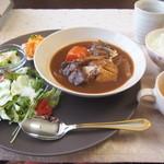 カフェ ヴィランダ - 料理写真:1050円のランチコース