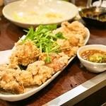 餃子のさんくみ - 2014.5 鶏の唐揚げ(680円)