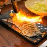 餃子のさんくみ - 2014.5 炙りシメサバ(600円)