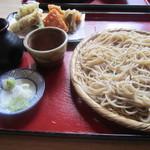 山桜 - 2014/5  野菜天ぷらせいろ・中盛り