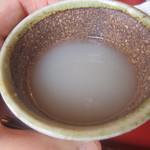 山桜 - 2014/5 蕎麦湯
