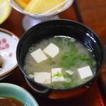 和食味処 海幸 - 味噌汁