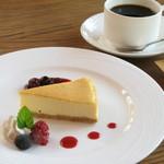 カフェ・ロシェ -  ケーキセットはドリンク付き!