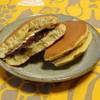 庄司菓子店 - 料理写真: どら焼きあんマーガリン(110円)1番人気の品であんと塩気のきいたマーガリンの相性が抜群