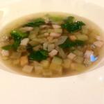 ザ・カステリアンルーム - 低糖質スープ様は食感の良い具材でかなり優しめのスープ!!
