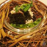 レストラン マノワ -  前菜 鰹