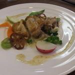 ビストロ・エピ -  播州百日鶏 モモ肉のソテー ポメリーマスタードの濃厚クリームソース Nさんの料理^^