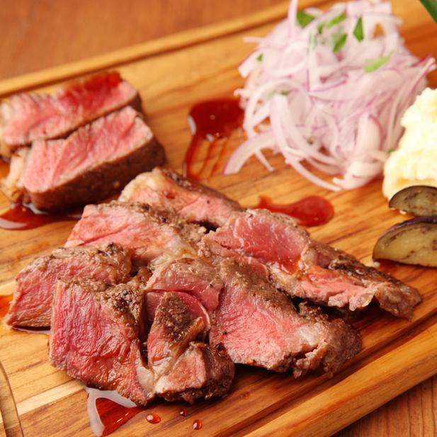 ベルサイユの豚 池袋 -  国産牛のイチボステーキ