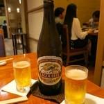 水たき玄海 - [2回目]ビール中瓶(610円)