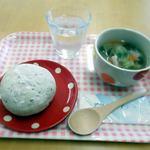 Sora - 料理写真: スープセット(パン付き) 580円