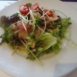 オー・ボール・ド・ロー -  キノコのマリネ、サラダ仕立て