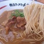 徳島ラーメン 人生 -  徳島ラーメン(麺かため)