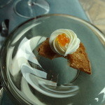 27759570 -  鱒の卵とクリームチーズを添えたカナッペ