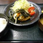 金とき 池田店 - ハンバーグライス