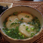 こみちカフェ -  ランチの味噌汁