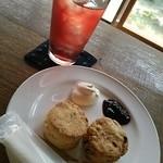 喫茶室 豆灯 - スコーンとコーディアル