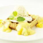 未来食カフェレストラン つぶつぶ -  夏季限定「トロピカルワッフル」