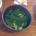 オリーブの木 - ランチスープ