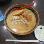麺場 田所商店 - 北海道みそ¥734-+チャーシュー1枚