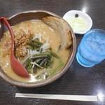 麺場 田所商店 - 信州みそ¥702-+チャーシュー1枚