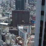 祢保希 -  新宿野村ビル 50Fから大ガード方面の眺め