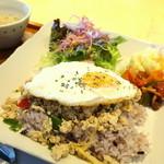 カチャカチャカフェ - 料理写真: ご飯セット